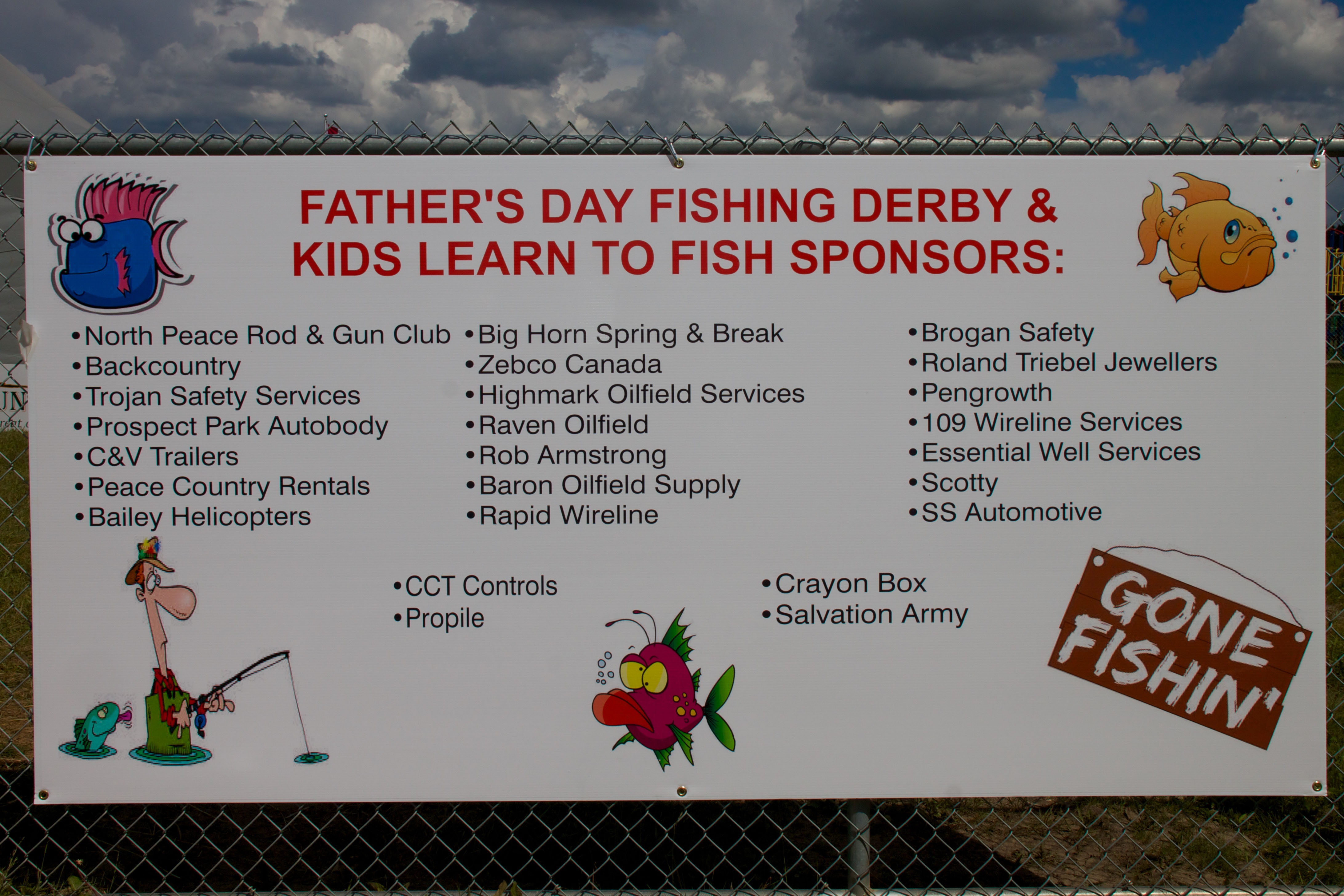 2015 kids learn to fish and derby results north peace for Learn to fish