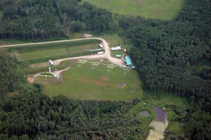 Gun Club Aerial Photo
