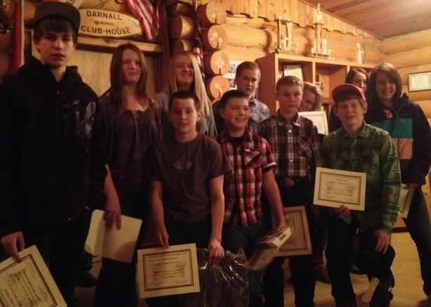 Junior Mule Deer Award Winners