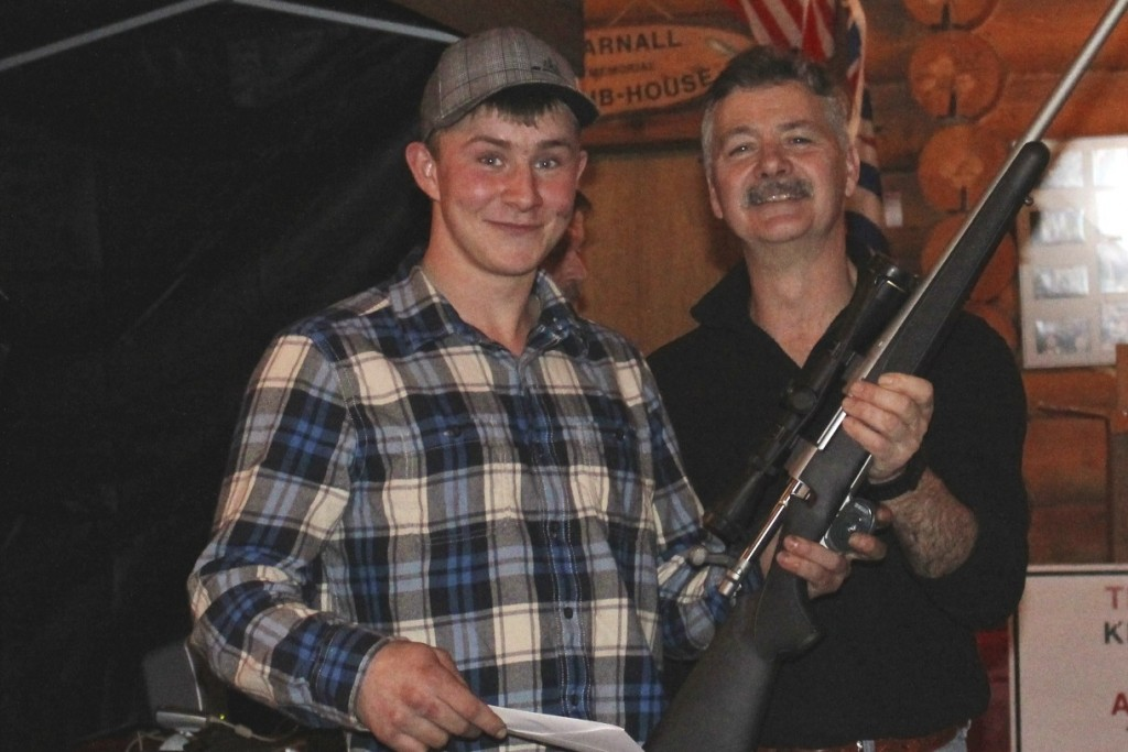 Devon Shawchek Remington Rifle Winner
