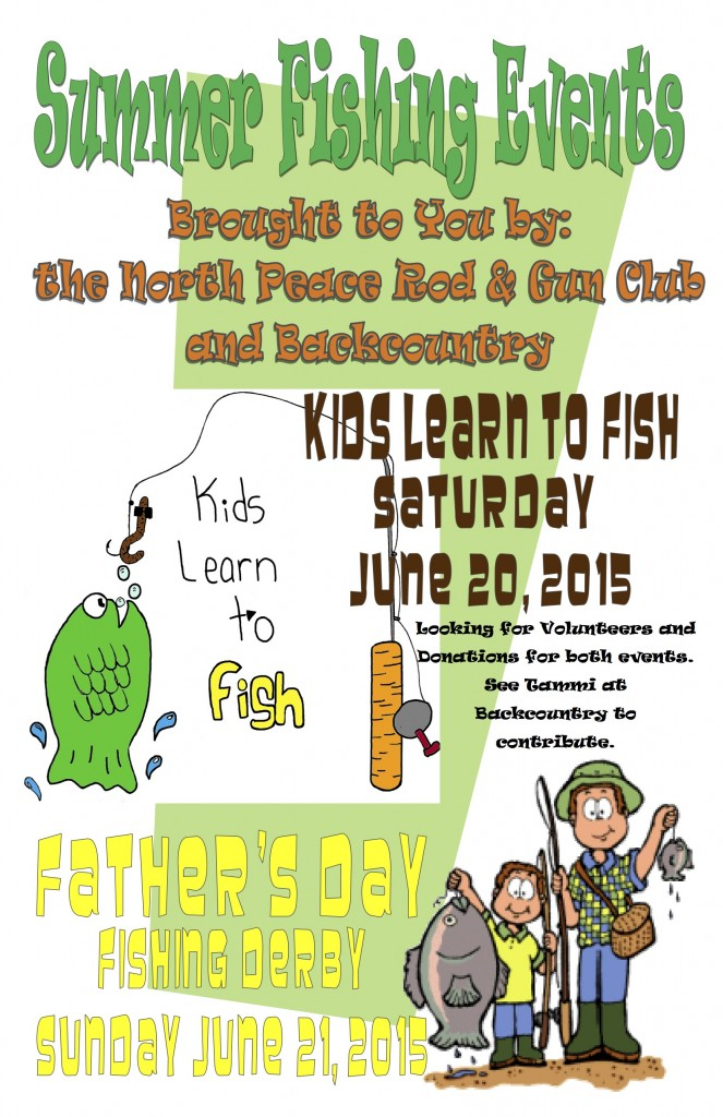 Kids Learn to Fish Promo Poster