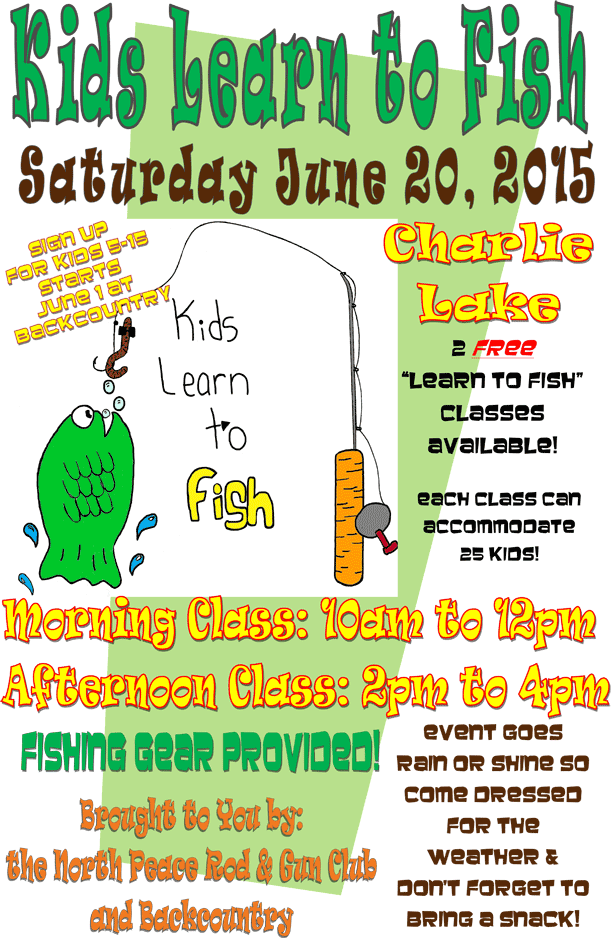 Kids Learn to Fish Poster 2015