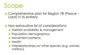 Peace-Liard Moose Management Plan Scope