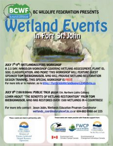 Wetlands Keepers Workshop Poster