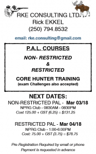 Poster PAL Courses March 2018