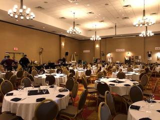 Photo of Fundraiser Setup