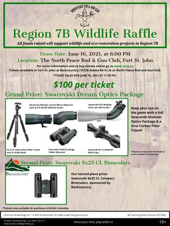 Wildlife Raffle 2021 Poster